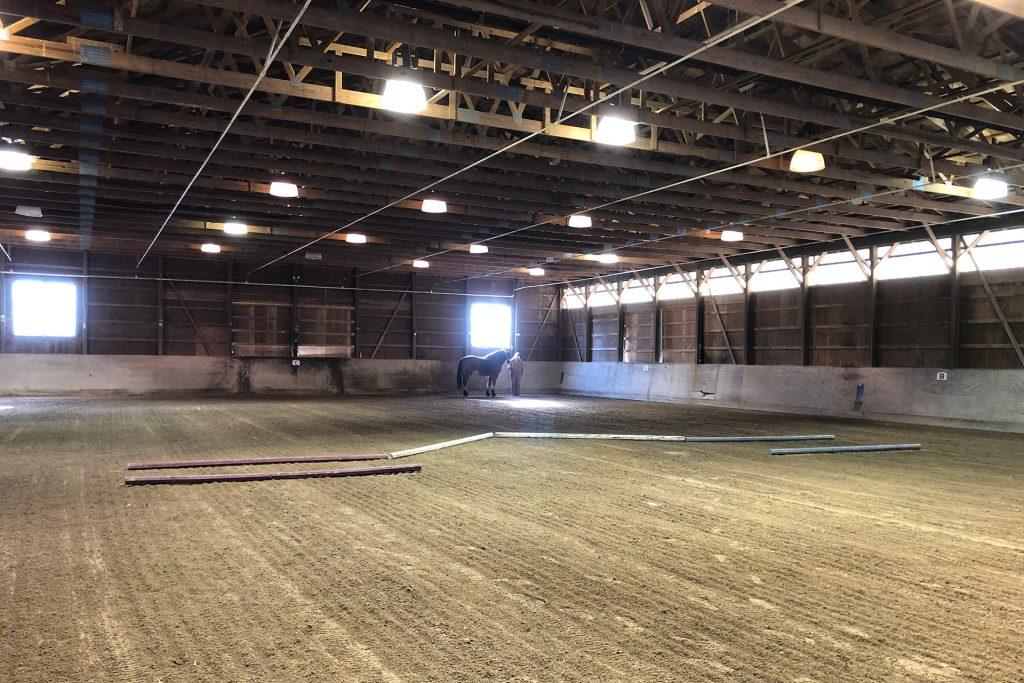 boarding facilities arena